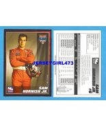SAM HORNISH JR. 2007 Indy 500 Racing Card - $6.00