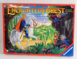 Vintage Enchanted Forest Magical Fairy Tale Treasure Hunt Board Game 1994 Sealed - $34.25