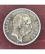 German Coin Prussia 1875 E Deutsches Reich - $46.75