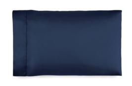 *Ralph Lauren 624 Solid Sateen KING Pillowcases (2) - Polo Navy NWT - $55.33