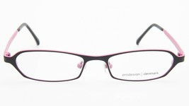 NEW PRODESIGN DENMARK 1217 c.6021 BLACK EYEGLASSES FRAME 46-15-125 B22mm... - $89.09