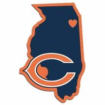 NFL Chicago Bears Home State Auto Car Window Vinyl Decal Sticker - $4.95