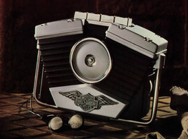 Retro Harley Davidson Motor Cycles Venice Beach Cassette Player NIB - $44.00