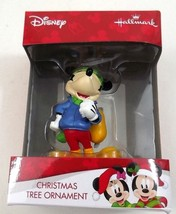 Mickey Mouse Carrying Ice Skates Christmas Ornament 2HCM2138 New Boxed - $17.99
