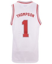 Klay Thompson #1 College Basketball Custom Jersey Sewn White Any Size image 2
