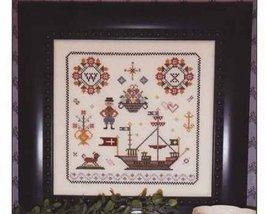 Nostalgia VIII sampler cross stitch chart Rosewood Manor - $7.20