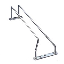 Stainless Steel  Iron Wine Glass Stand Hanging Beverage Holder with 1 row - $12.34