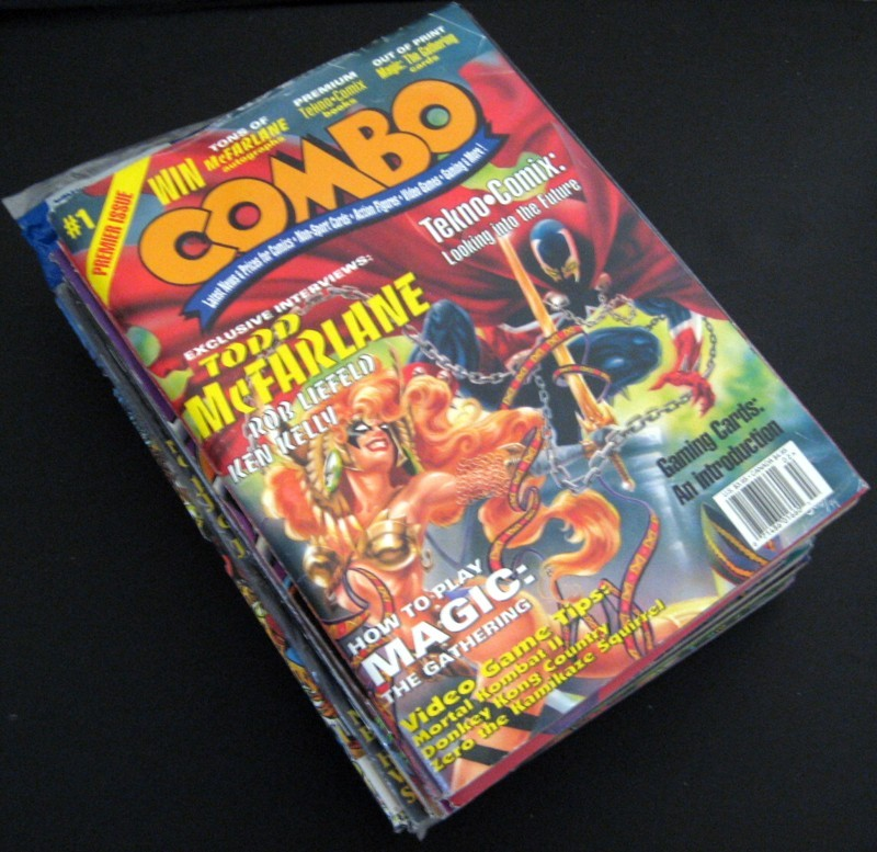 Combo! Magazines Issues By Century Publishing Lot