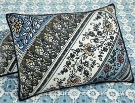 Martha Stewart Collection Cotton Antique Market Reversible Quilted Standard Sham - $14.25