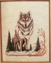 Heirloom  5211 WOLF Fiddlers Cloth Unopened Cross Stitch KIT 1992 Color ... - $19.79