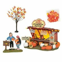 Department 56 Halloween Village Patty's Pumpkin Patch 4 Piece Set 6005479 - $189.99