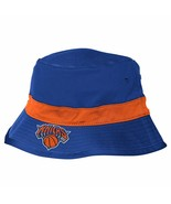 Adidas NBA New York Knicks Men's Team Nation Bucket Hat Blue Large/X-Large NEW - $19.34
