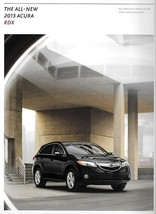2013 Acura RDX sales brochure catalog US 13 V6 Honda - $8.00
