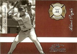 2005 donruss st.louis cardinals albert pujols serial # 369/1000 - $2.50