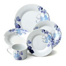 Elegant Abbey Floral Gardens 20 Piece Dinnerware Set Service for 4 - $289.99