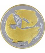 Alaska Mint King Salmon Medallion Silver Gold Medallion Proof 1 Oz. - $98.99