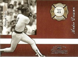 2005 donruss chicago cubs andre dawson serial # 672/1000 - $2.50