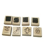 Little Layers Stampin Up Stamp Set Stamps 15368 Floral Kite Fish Ladybug  - $26.72