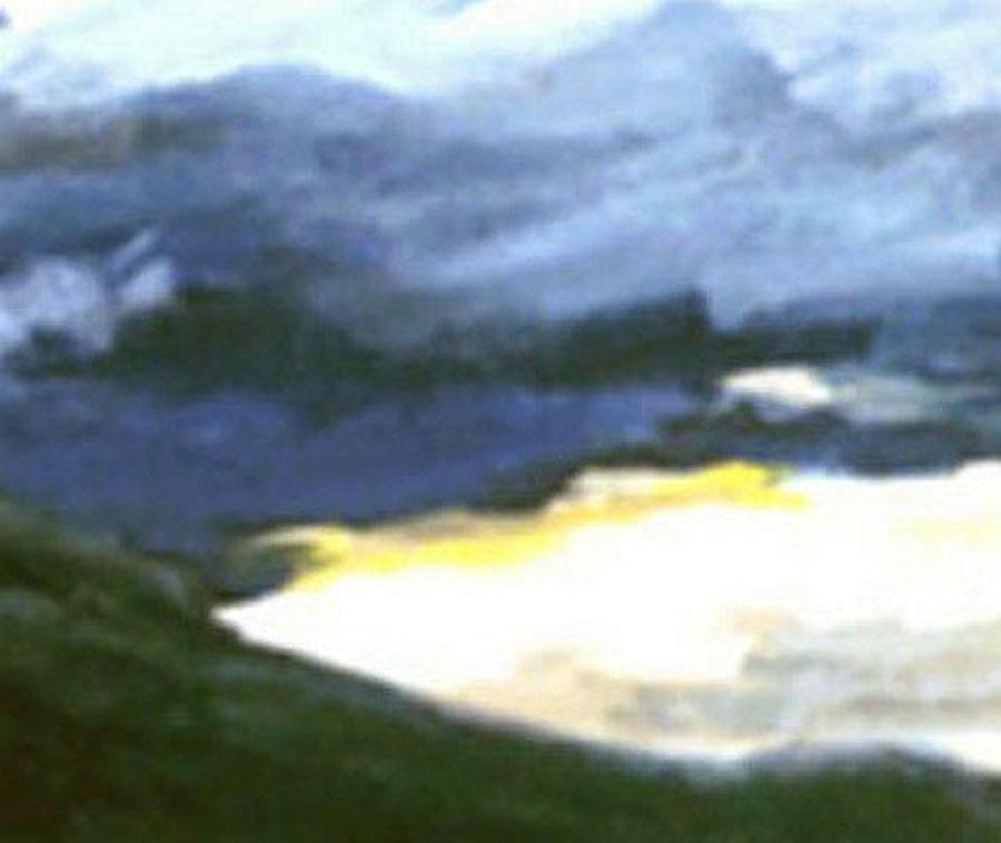 Fijord View II ( Original Landscape of  Norway