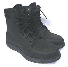 Cole Haan Lockridge Moctoe Waterproof Mens Leather Boots Black Size 8.5 ... - $90.00