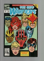 The New Warriors #25 - July 1992 - Marvel Comics - Giant-Sized 25th Anni... - $1.47