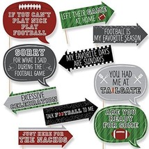 Funny End Zone - Football - Tailgating Party Photo Booth Props Kit - 10 ... - £18.27 GBP