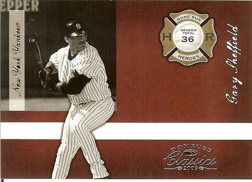 2005 donruss new york yankees gary sheffield serial # 799/1000 - $2.50