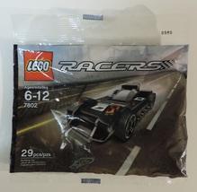 LEGO Racers Le Mans Racer car set # 7802  w/ 29 pieces - New - $8.00