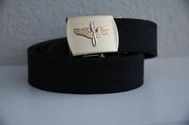 USAF Aviation Cadet Black Belt & Buckle - $17.81
