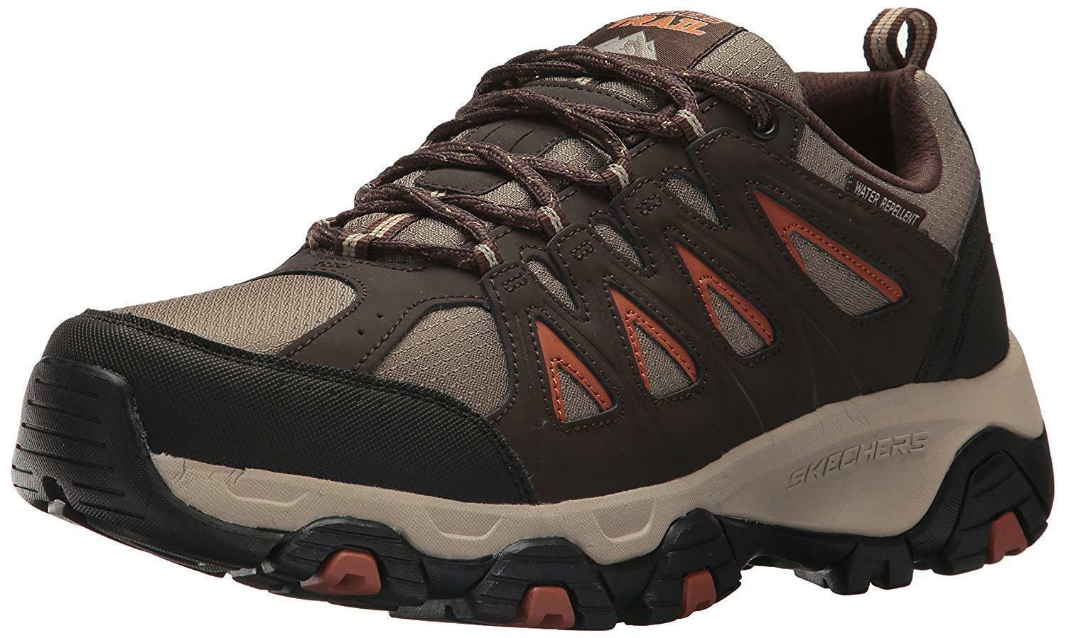 Skechers Men's Terrabite Oxford Trail Walking Hiking Shoe image 2