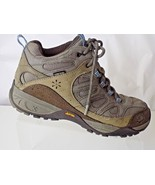 NORTHFACE LEATHER GORE TEX GRAY/TAN/BROWN WOMENS SHOES SIZE UK7/US9 - $34.64