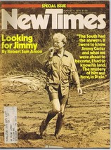 ORIGINAL Vintage August 6 1976 New Times Magazine Jimmy Carter - $14.84