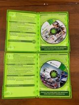 Xbox 360 4 Game Lot Madden Football Video Game Bundle Tested image 4