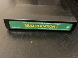 TEXAS INSTRUMENTS TI 99/4A Multiplication 1 Scott Foresman green label m... - $3.99