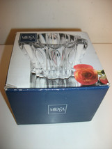 MIKASA GLASS SIGMA VOTIVE CANDLE HOLDER 3.5 INCH NEW  - $14.99