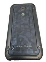 Original Rear Back Housing G890A For Samsung Galaxy S6 Active Dark Blue ... - $7.97