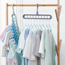 1pcs  Multifunctional plastic clothes hangers Home hangers - $4.99