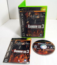 2003 UBISOFT XBOX Tom Clancy's RAINBOW SIX 3 Squad Based Counter Terror ... - $12.00