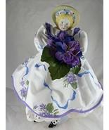 "DAISY KINGDOM 15 1/2"" Sarah Jane Victorian Doll Porcelain Head Fabric Bo... - $45.42"
