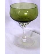 Sasaki Hawthorne Jade Champagne Low Sherbet Glass - $14.48