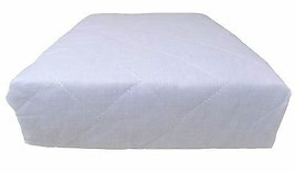 10 X SINGLE HOTEL QUALITY WHITE DEEP FITTED ANTI ALLERGENIC MATTRESS PRO... - $63.68