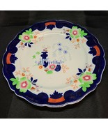 """ANTIQUE """"REAL IRONSTONE CHINA"""" DINNER PLATE MAKERS MARK IS 3 RED DOTS AN... - $26.00"""