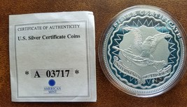 $5 Silver Certificate Coin Presenting Light To The World Cu Plated Proof... - $19.79