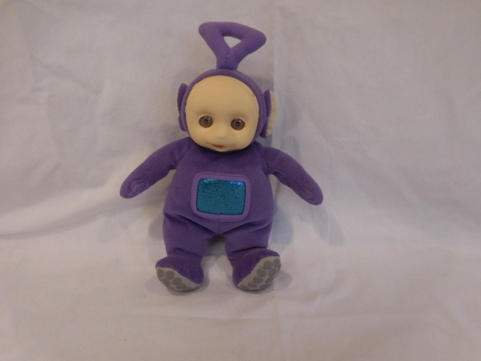 Tinky Winky Teletubbies Vtg 1998 Purple Non Talking Stuffed Plush eden - $15.02