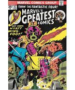 Marvel's Greatest Comics Comic Book #62 Fantastic Four 1976 FINE+/VERY F... - $3.75