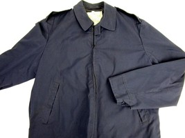 USAF Air Force Officer Military Work Uniform Jacket W/Lining Bomber Style Blue - $74.56