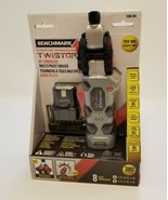 Benchmark TWISTOR 8V Cordless Multi Pivot Driver Screwdriver w Battery NEW NIB - $48.86