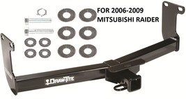"2006-2009 MITSUBISHI RAIDER TRAILER HITCH 2"" TOW RECEIVER CLASS III DRAW... - $175.12"