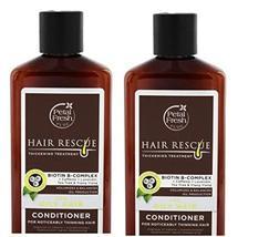 Petal Fresh Mini Hair Resq Thickening Conditioner for Normal Hair, 2 Flu... - $12.99
