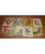 Lof of 9 Vintage Children's Books 1958 - 1988 Christmas I can Read Sesam... - $14.01
